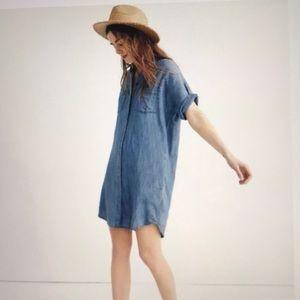 Madewell Denim Shirt Dress Sz M